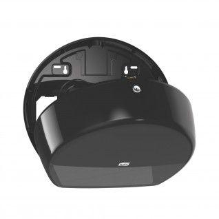Tork Dispensador T2 para Papel Higiénico Mini Jumbo Preto