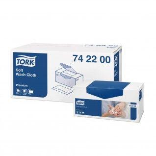Tork Toalhas para Limpeza Suaves Premium 30 x 32 cm