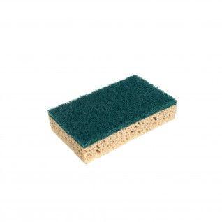 Esfregão Verde com Esponja