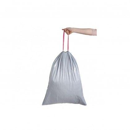 Sacos Lixo Fecho Fácil 100 L