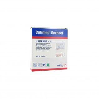 Cutimed Sorbact Gaze Absorvente 7 x 9 cm