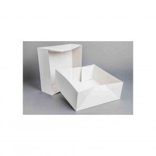 Caixa Cartolina Branca 30 – 30 x 30 x 8 cm