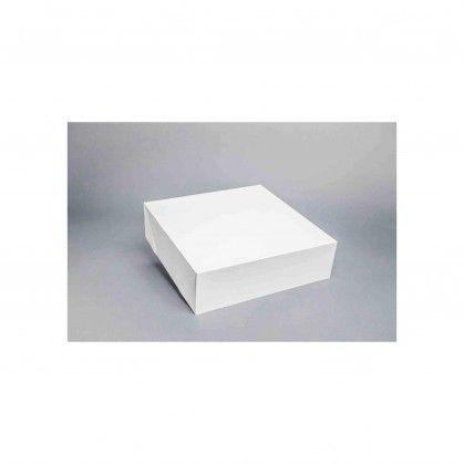Caixa Cartolina Branca 33 - 33 x 33 x 9,5 cm
