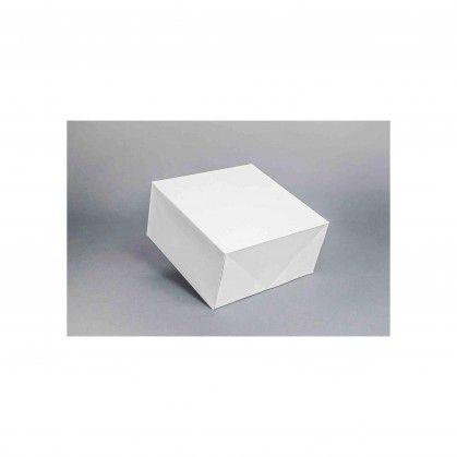 Caixa Cartolina Branca 23 - 23 x 23 x 11 cm