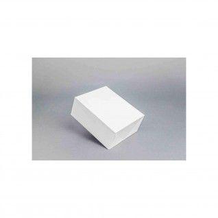 Caixa Branca 3 - 18,5 x 16 x 7,5 cm
