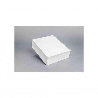Caixa Branca 5 - 25 x 21 x 7,5 cm