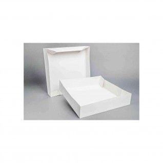Caixa Cartolina Branca - 36 x 36 x 8 cm