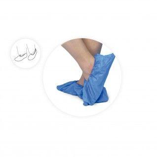 Cobre Sapatos em CPE azul Rubbergold