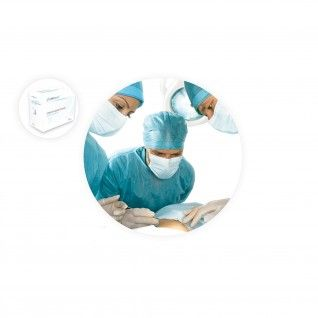 Luva Cirúrgica Esterilizada em Látex com Pó 7.5