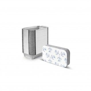 Forma de alumínio retangular com tampa 600 ml