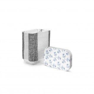 Forma de alumínio retangular com tampa 1500 ml