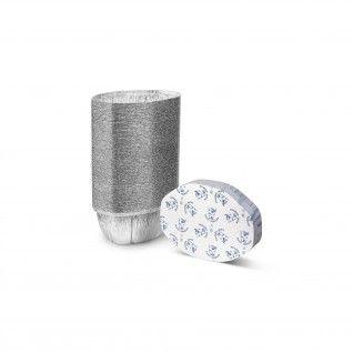 Forma de alumínio oval com tampa 2400 ml