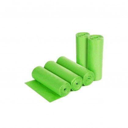 Saco Lixo Rolo Perfumado Verde 55 x 55 cm
