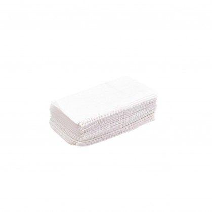 Guardanapos de Bar Zig Zag Branco, 1 folha 14 x 14 cm