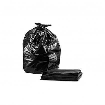 Saco Lixo PEBD Preto (10 micras) 130 x 150 cm