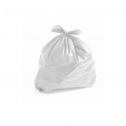 Saco Lixo PEBD Branco 50 x 60 cm