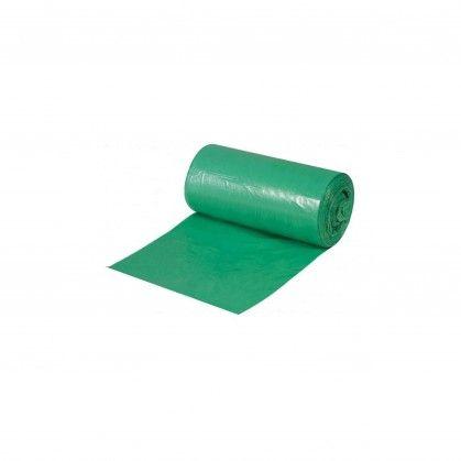 Saco Lixo Rolo PEBD Verde 80 x 120 cm