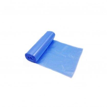 Saco Lixo Rolo PEBD Azul 80 x 120 cm