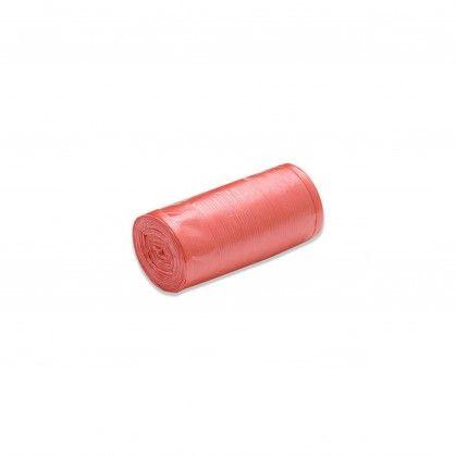 Saco Lixo Rolo PEBD Vermelho 80 x 120 cm