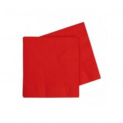 Guardanapo VISICLASS 40 x 40 PP vermelho
