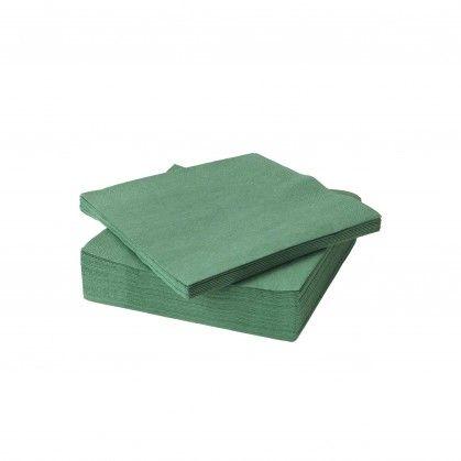Guardanapo VISICLASS 40 x 40 PP verde escuro