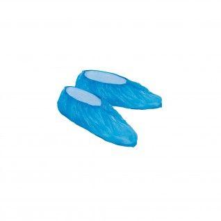 Cobre Sapatos em CPE Azul
