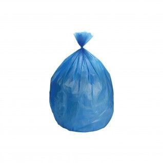 Saco Lixo PEBD azul 90 x 130 cm