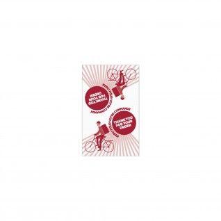 Etiquetas Adesivas 5 x 8 cm para Sacos Delivery Papel Branco