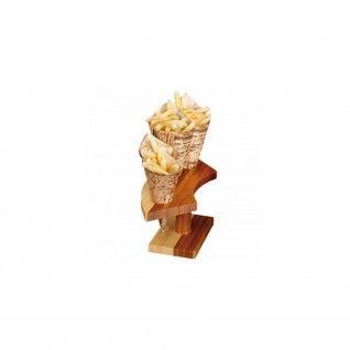 Suporte p/ 4 Cones 26 x 10,5 x 9 cm Bambu