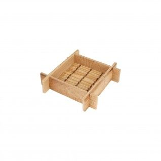 Mini Recipientes 12 x 12 x 3 cm Bambu