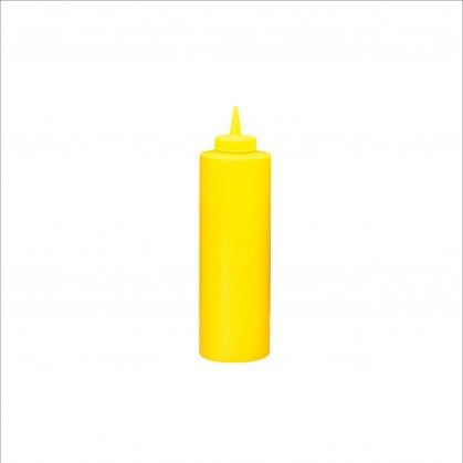 Bisnagas para Molhos 720 ml Ø 7 x 24,2 cm Amarelo PEHD